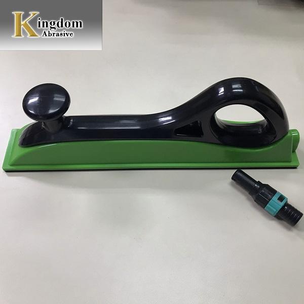 Dust-Free Vacuum Hand Sander sanding pad